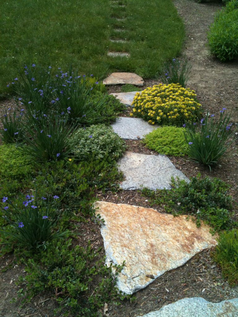 Walkway to Lawn
