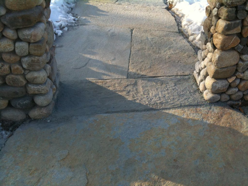 Entrance stone to front walkway (2 of 2)