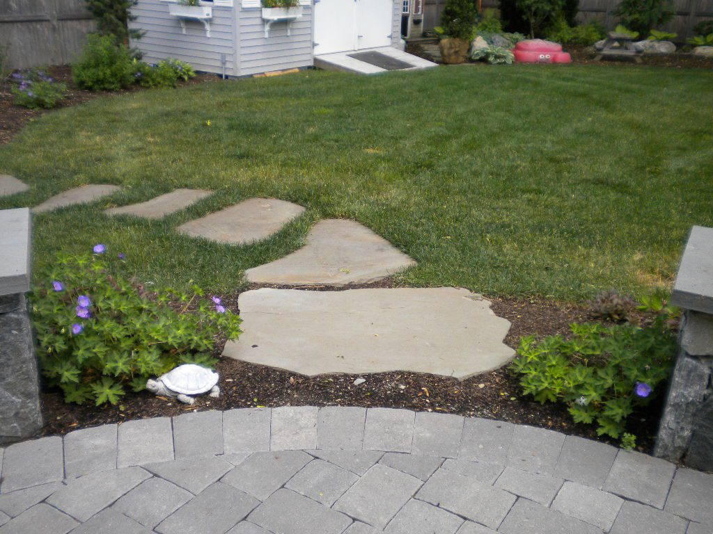 Patio to path