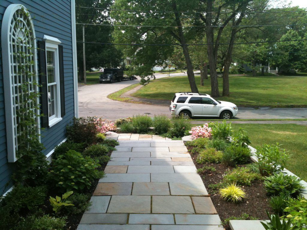Front Walkway (Late spring)