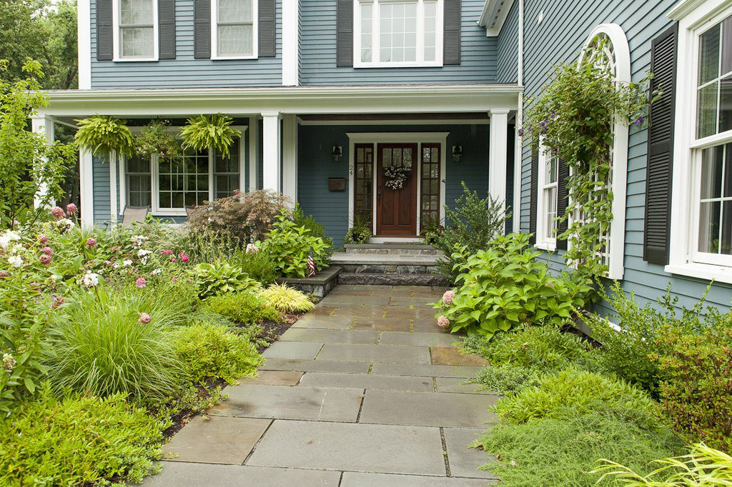 Front Walkway (Late summer -early fall)