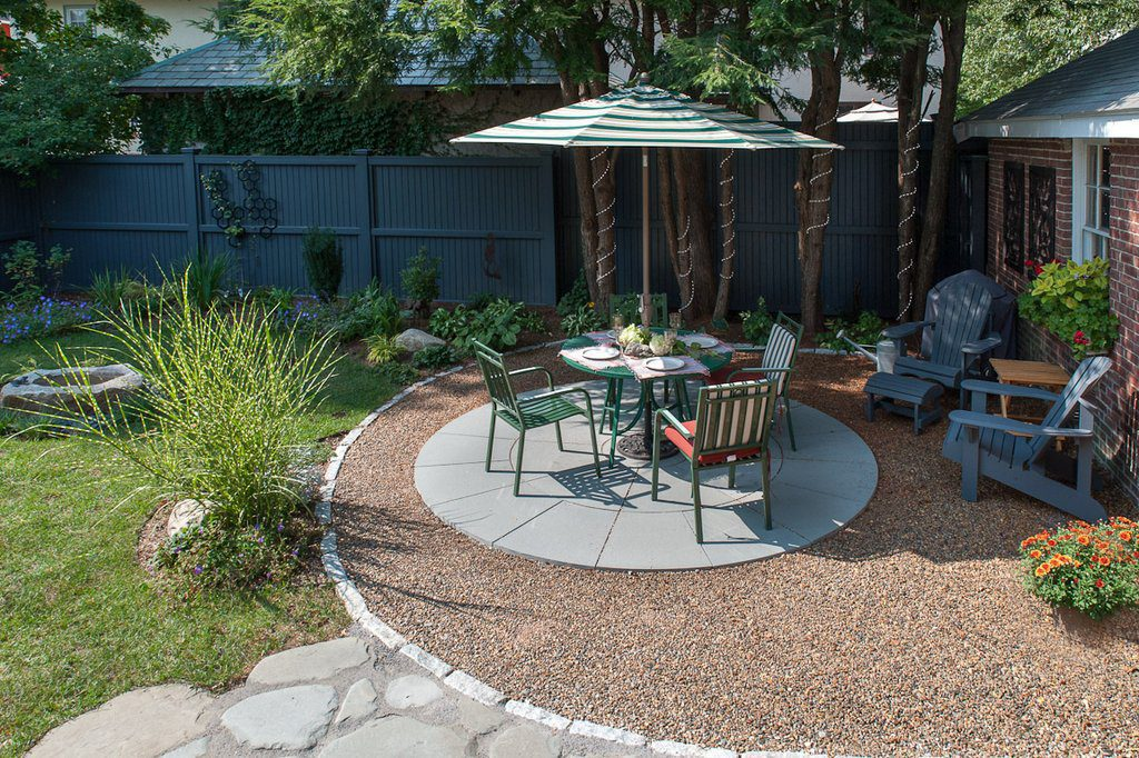 Sustainable Water Permeable Patio (Opposite View)