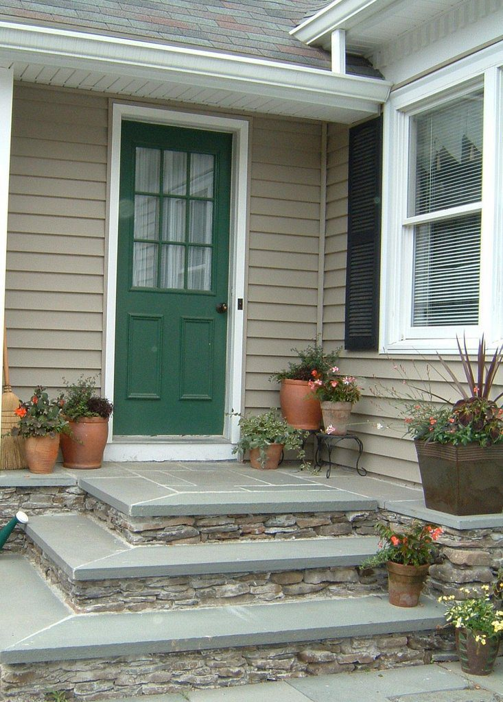Container Garden to Soften Hardscapes